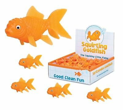 Baby Bathing/Grooming Bath Toys SQUIRTING MINI GOLDFISH BATH TOY Kids Birthday Party Bag Filler Squirter Gift UK