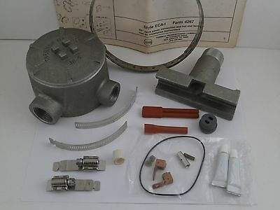 Thermon Sx Cable Power Connection/hot End Termination Kit Eca-1  31A *nib*