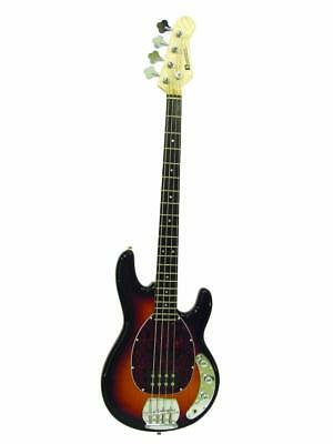 DIMAVERY MM-501 E-Bass, tobacco
