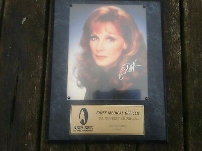 Star Trek The next Generation Autogramm Dr Berverly Crusher limited Edition