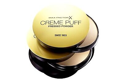 Max Factor Creme Puff Compact Pressed Powder  Choose Your Shades