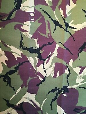 "150cm Camouflage Cotton Drill Fabric 58/"" Army Military Camo Material RG92"