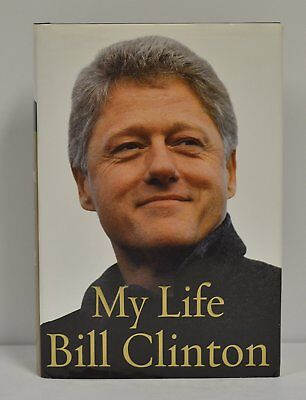 BILL CLINTON signed first edition MY LIFE