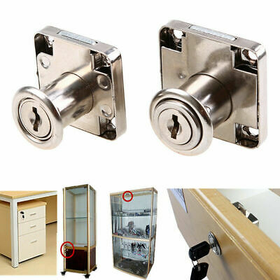 Zinc Alloy Computer Desk Cabinet Mailbox Drawer Cupboard Lock Cam Lock with Key