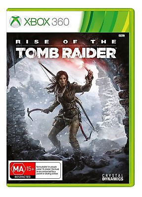 Rise of the Tomb Raider XBox 360 New and Sealed