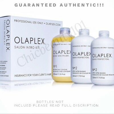 OLAPLEX No.1, No.2 & No.3 CUSTOM KIT w/ Instructions and Dosing Dispenser