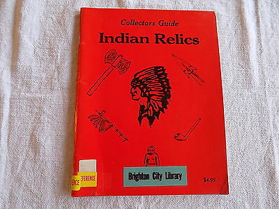 Collectors Guide to Indian Relics, 1977 L-W Promotions, Former Library Copy