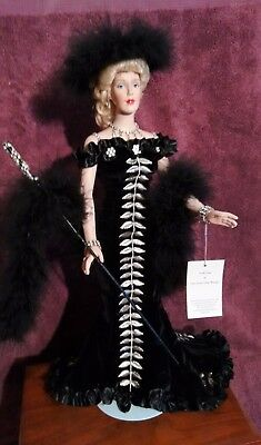 1998 Robert Tonner Edith Head Lady Lou She Done Him Wrong Porcelain Doll