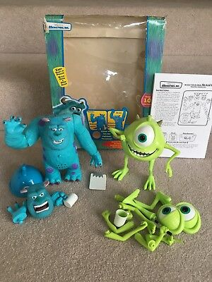 Monsters Inc Build Your Own Sully & Mike, Rare