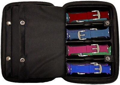 Apple Watch Band Travel Case, Holder f/ Smart Watch Straps Holds count 32+ Bands