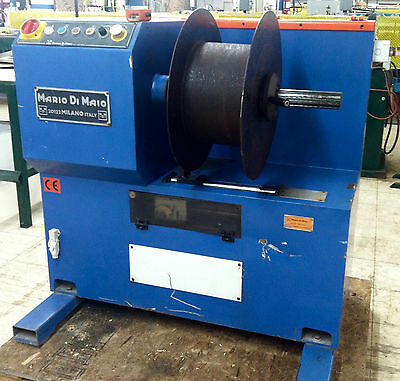 Mario Di Maio Coiling Reel/Winder for Wire and Strip 220V 3PH 60Hz