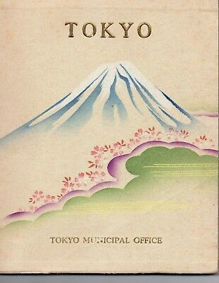 Vintage Pre-WWII 1937 Tokyo Municipal book in English