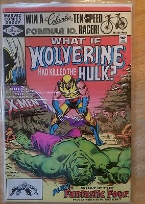 what if wolverine had killed the hulk  Rare Collectibles Comic Book