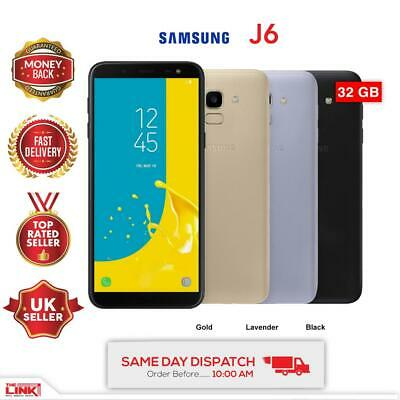 BRAND NEW Samsung Galaxy J6 SM-J600G DUAL SIM 32GB 4G LTE UNLOCKED 2018 MODEL