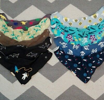 Bundle Of Funky Giraffe Baby Bibs