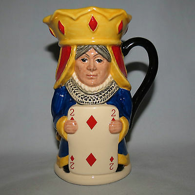 Royal Doulton King And Queen Of Diamonds Toby Jug Ltd Ed D6969