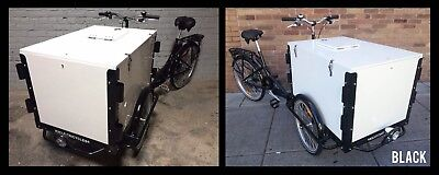 Icicle Tricycle Ice Cream Bike Black