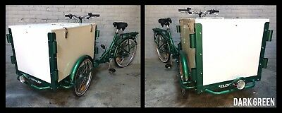 Icicle Tricycle Ice Cream Bike Dark Green