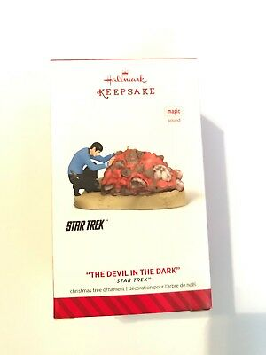 "2014 Hallmark Keepsake Ornament--Star Trek ""The Devil InThe Dark"""