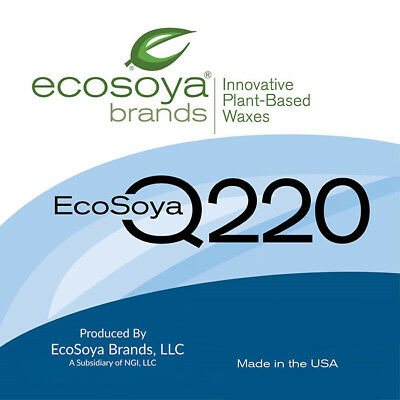 EcoSoya Wax - Soy Wax Q220- free shipping to 90% of aus