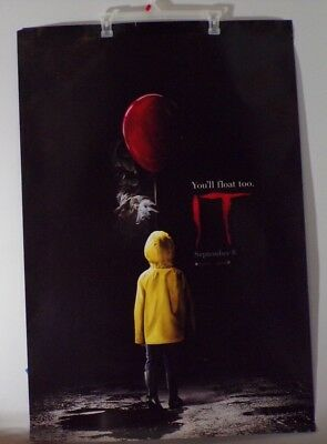 Stephen King's IT - original DS movie poster - 27x40 D/S FINAL - Pennywise
