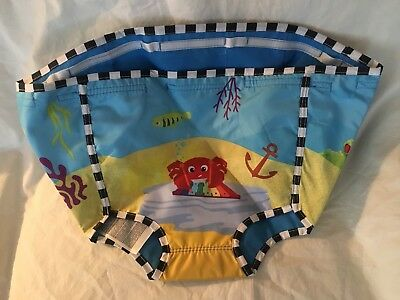 Baby Einstein Rhythm Of The Reef Excersaucer Fabric SEAT Cover Replacement Part