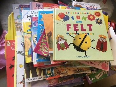 47 X Various Kids Picture Books Prep To Grade 2