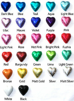 300 Chocolate Cadbury Hearts - Weddings, Birthdays, Bombonniere, Christenings