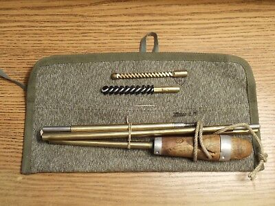 Vintage Swiss Surplus Military Cleaning Kit  Original Army Issue.
