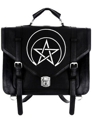 Restyle Unholy Messenger Bag Occult Gothic Witchy Nu Goth Backpack