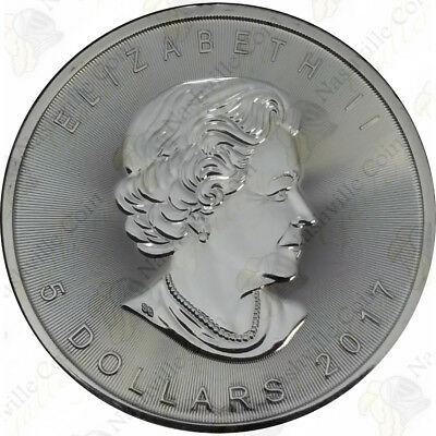 2017 Canadian Silver Maple Leaf -- 1 oz -- Uncirculated -- SKU #12029