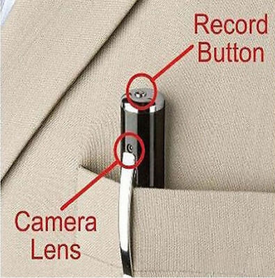 STYLO CAMERA ESPION 1280x960 VIDEO PHOTO AUDIO 32 GO MAX SPY PEN DVR**