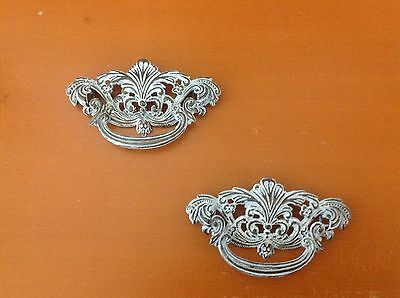 056 VTG French Provincial Swing Pull In Chabby Chic white 6 available