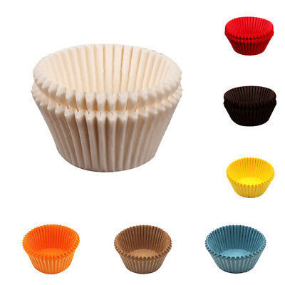 100Pcs Mini Cake Cupcake Liner Case Party Baking Paper Muffin Cup Cases Deluxe