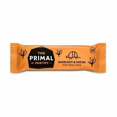 The Primal Pantry | Hazelnut & Cocoa Paleo Bar 45g (Pack of 18)