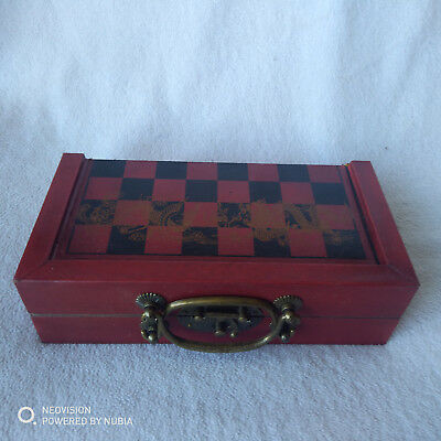 Chinese-32-pieces-chess-set-box-Qing-Dynasty-Army-style