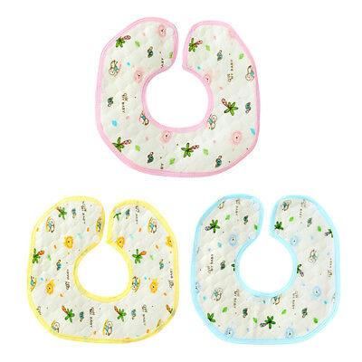 Baby Boy Girl Newborn Bibs Waterproof Saliva Towel Burp Cloth Feeding Apron