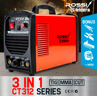 3-in-1 TIG MMA Plasma Cut Inverter Welding Machine 30A Plasma Portable Stick