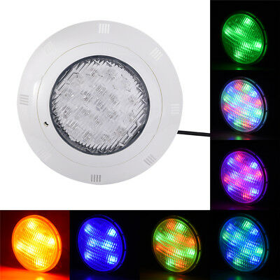 7 Color 12V 19 LED RGB Underwater Swimming Pool Bright Light +Remote Control