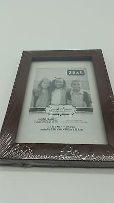 NEW PHOTO FRAME 3.5x5 SPECIAL MOMENTS COLLECTION BLACK