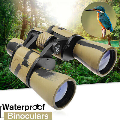 Waterproof 20x50 1000M Binoculars Telescope Night Vision Hunting Camping Travel
