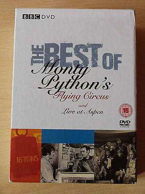 BEST OF MONTY PYTHON'S FLYING CIRCUS & LIVE AT ASPEN 4 Disc DVD BOX SET
