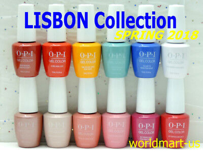 OPI GELCOLOR UV/LED 15ml/0.5fl.oz LISBON Collection SPRING 2018/Choose Any Color