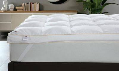 LUXURY HOTEL QUALITY GOOSE FEATHER & DOWN MATTRESS TOPPER Available ALL SIZES