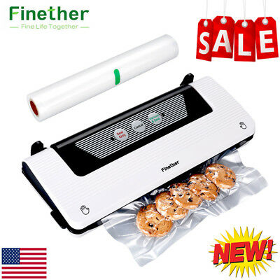 Portable Food Vacuum Sealer Package Machine Electric Film Sealer Vacuum Packer