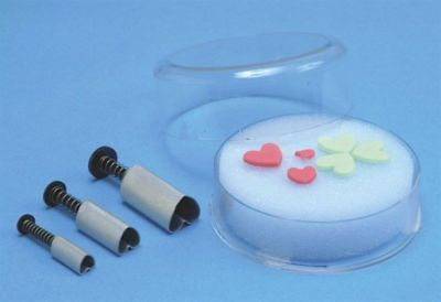 PME Heart Shape Plunger Cutter Set sugarcraft cake decorating FAST DESPATCH