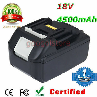 4.5Ah 18V Battery For Makita BL1830 BL1815 BL1835 LXT Lithium Ion Cordless