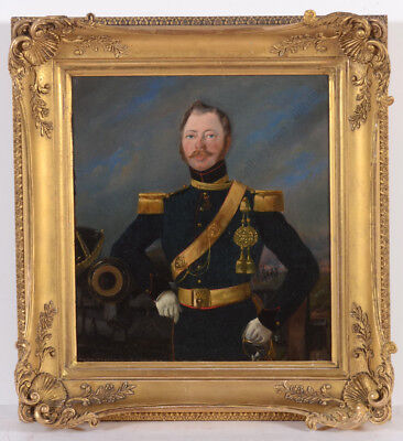"""""""Captain of Horse Artillery (Kingdom of the Netherlands)"""" oil on canvas, 1830/41"""
