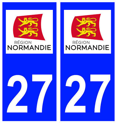 2 stickers autocollant plaque d immatriculation auto departement 76 normandie eur 2 90. Black Bedroom Furniture Sets. Home Design Ideas
