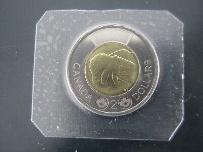 2013 Canada $2 Toonie  proof like sealed  Un-circulated from  mint set
